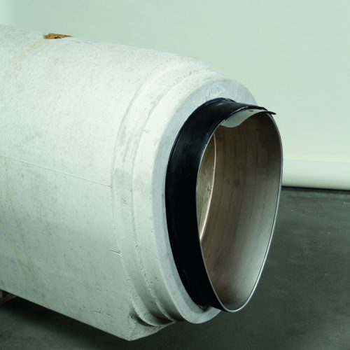 Jetzt auch für Eiprofile: Der modifizierte Funke BI®-Adapter. Foto: Funke Kunststoffe GmbH