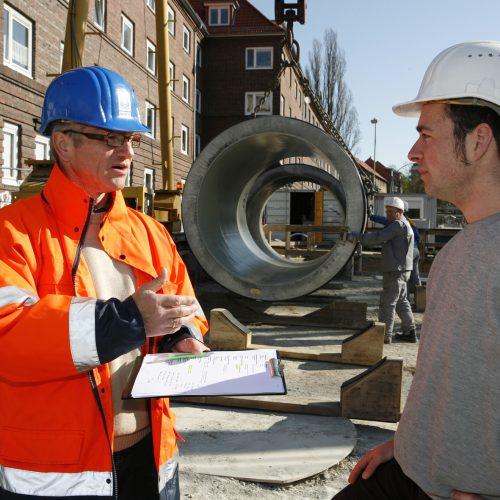 Der Einsatz von Vortriebstechnik erfordert Erfahrung und Sachverstand von allen Beteiligten. Foto: Güteschutz Kanalbau