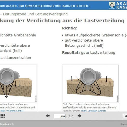 Praxisnahe Darstellungen technischer Sachverhalte unterstützen die Aufnahme von theoretischem Basiswissen. Foto: Güteschutz Kanalbau