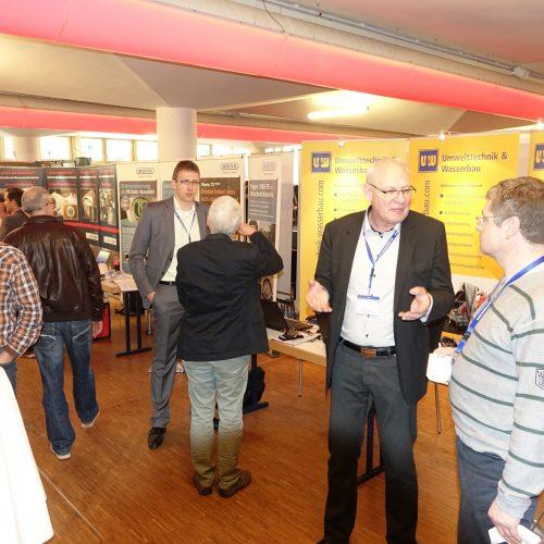 Die begleitenden Fachausstellungen boten eine ideale Plattform für den fachlichen Austausch zwischen Teilnehmern und Herstellern. Foto: TAH
