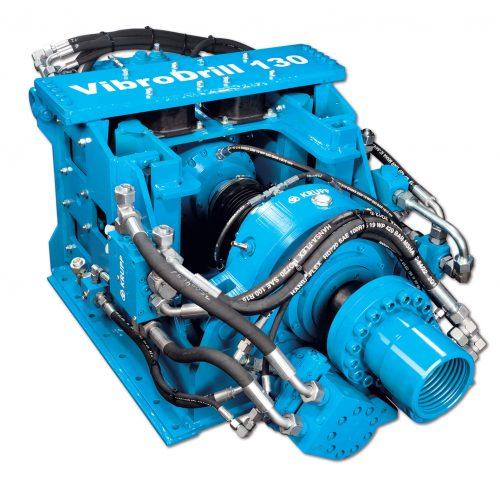 """Der neue KRUPP-Bohrhammer """"Vibro-Drill"""" ist eine Kombination aus Drehen und Vibrieren mit hohen Frequenzen. Foto: thyssenkrupp Infrastructure"""