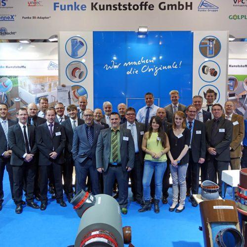 Ausgezeichnete Beratung: Der Service der Funke-Mannschaft wurde zum wiederholten Male prämiert.   Foto: Funke Kunststoffe GmbH