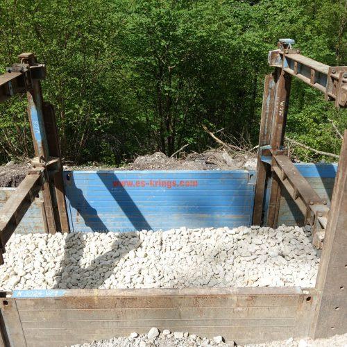 Bei der Sanierung von Steigen haben sich Gabionen in der Region Geislingen als wirtschaftliche Lösung erwiesen, die auch bei der Beanspruchung durch Schwerlastverkehr die erforderliche Stabilität bieten. Foto: thyssenkrupp Infrastructure