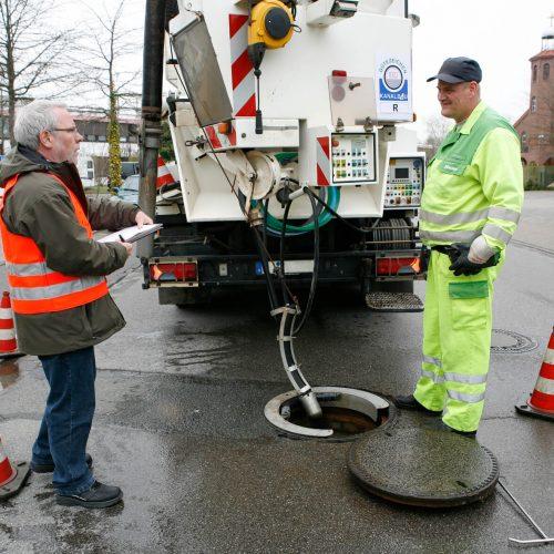 Betriebseinrichtungen und Geräte zählen zu den wichtigen Qualitätskriterien, die überprüft werden. Foto: Güteschutz Kanalbau