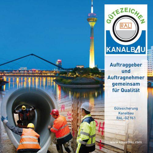 In der Landeshauptstadt Düsseldorf findet am 29. April die 29. Mitgliederversammlung der RAL-Gütegemeinschaft Güteschutz Kanalbau statt. Foto: Güteschutz Kanalbau