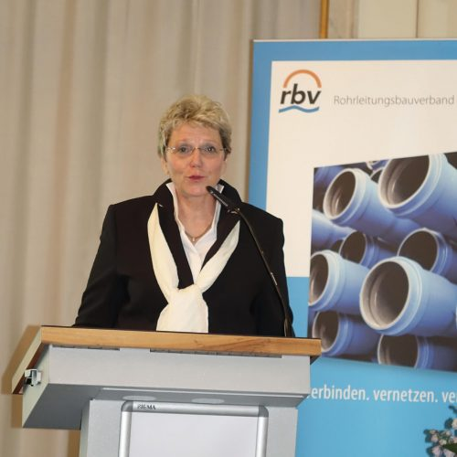 """""""Wir lassen in unserem Engagement für die Leitungsbauer nicht locker"""", versprach rbv-Präsidentin Gudrun Lohr-Kapfer. Foto: rbv"""