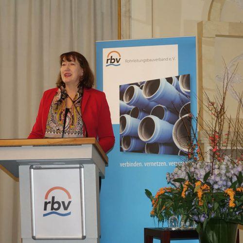 Die Entwicklung der Energieversorgung in Deutschland stand im Fokus des Vortrags von Hildegard Müller. Foto: rbv