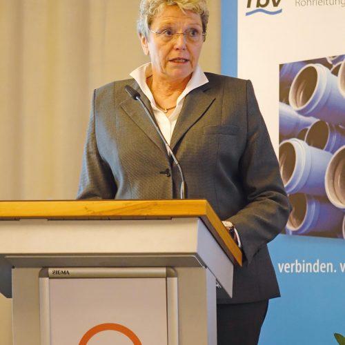 Die rbv-Präsidentin forderte den Dialog anstelle von Arbeiten im stillen Kämmerlein. Foto: rbv
