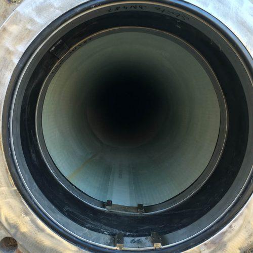 Das Ergebnis der erfolgreichen Sanierung: ein neues Rohr, dessen Standard und Qualität den hohen Anforderungen einer Herstellung im Werk entspricht.  Foto: DIRINGER&SCHEIDEL ROHRSANIERUNG