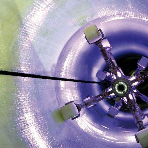 Neben den digitalen Welten geht es auf dem Oldenburger Rohrleitungsforum auch wieder um die Kernthemen des Rohrleitungsbaus, wie z.B. die Sanierung von Leitungen. Foto: Swietelsky-Faber GmbH Kanalsanierung