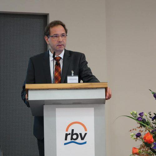 Prof. Dr. Gerald Linke machte sich für die Rettung des Erdgases stark.  Foto: Rohrleitungsbauverband