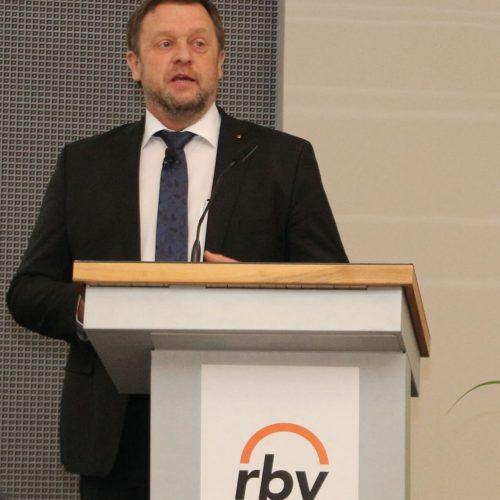 Für Thomas Wegener birgt BIM eine enormes Potenzial in der Wertschöpfung. Foto: Rohrleitungsbauverband