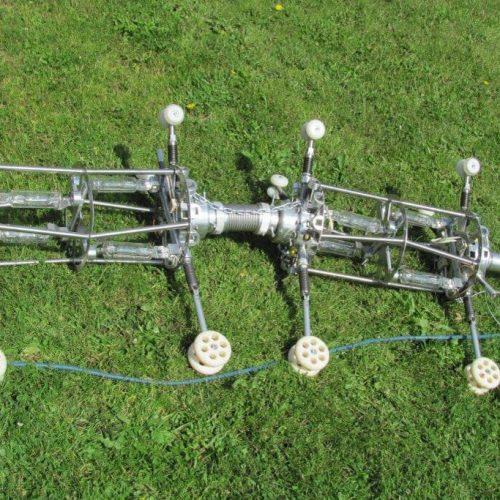 Der für die Aushärtung des UV-Liners eingesetzte Lampenzug. Foto: DIRINGER & SCHEIDEL ROHRSANIERUNG