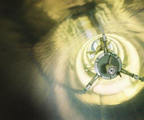 Der lichtaushärtende UV-Liner lässt sich schnell einbauen und zeichnet sich durch hohe Resistenz gegen chemische und mechanische Belastungen, lange Lebensdauer und hervorragende hydraulische Eigenschaften aus. Foto: DIRINGER & SCHEIDEL ROHRSANIERUNG