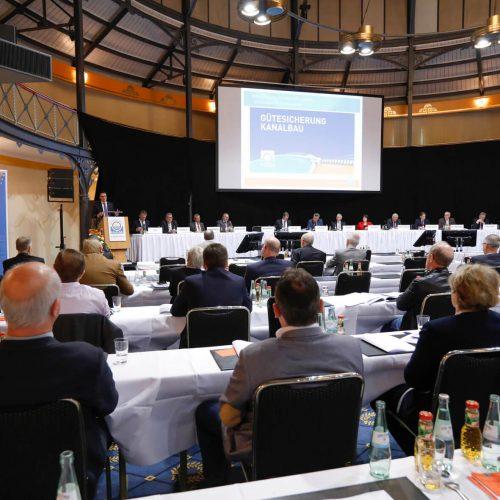 Die 30. Mitgliederversammlung der RAL-Gütegemeinschaft Kanalbau fand in diesem Jahr in Stuttgart statt. Foto: Gütegemeinschaft Kanalbau