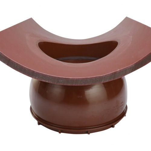 Der HS-Klebesattel ist in den Nennweiten DN/OD 160/200 erhältlich und für den Einsatz in Hauptrohren von DN 200 bis 500 geeignet. Foto: Funke Kunststoffe GmbH