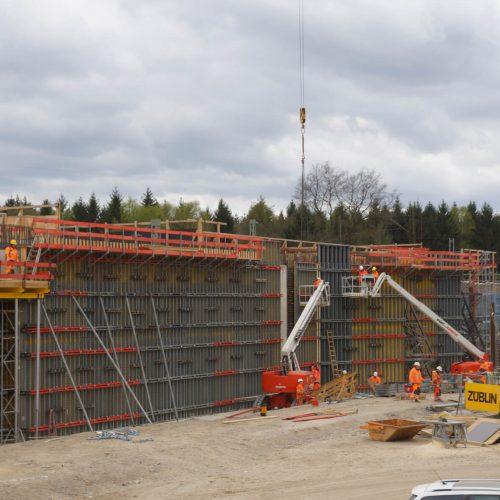 Rund 1.200 m2 Trägerschalung TELOS kamen bei der Erstellung des Bauwerks zum Einsatz. Foto: ULMA