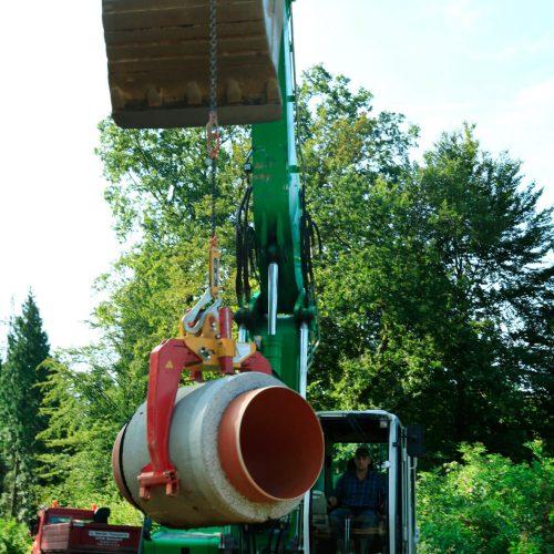 Fasel beliefert bundesweit Baustellen und will vorsichtig weiter auch über Deutschlands Grenzen hinaus expandieren.  Foto: Gebr. Fasel Betonwerke GmbH