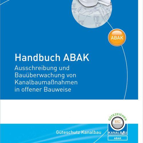 Erscheint Ende des Jahres: Das Handbuch ABAK unterstützt den Planer bei der Ausschreibung und Bauüberwachung von Kanalbaumaßnahmen in offener Bauweise. Foto: Güteschutz Kanalbau
