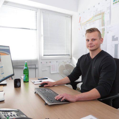 Pascal Znidarec gehört zu den 300 Mitgliedern, die den E-Learning-Kurs bis jetzt genutzt haben. Foto: Güteschutz Kanalbau