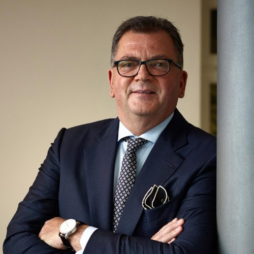 Dipl.-Ing. (FH) Fritz Eckard Lang, Präsident des Rohrleitungsbauverbandes  Foto: Rohrleitungsbauverband