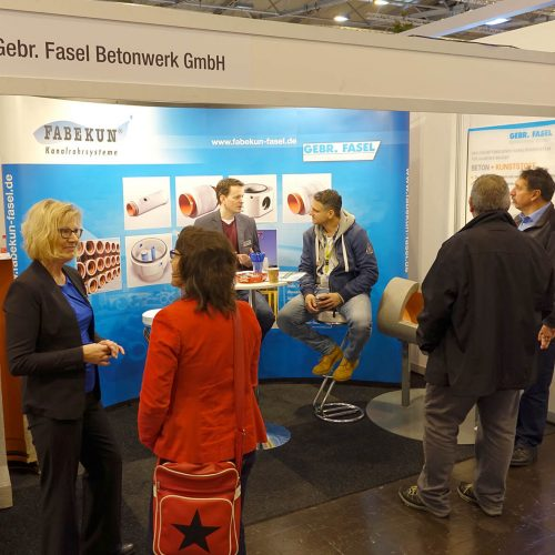 Mit den FABEKUN-Kanalrohrsystemen brachte sich die Gebr. Fasel Betonwerk GmbH ins Gespräch. Foto: Gebr. Fasel Betonwerk GmbH