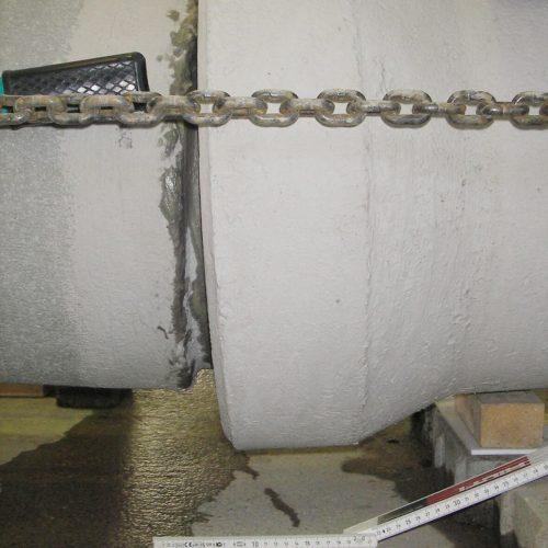 Foto 4: Dichtigkeitsprüfung unter vergrößerter Abwinkelung. Foto: IKT