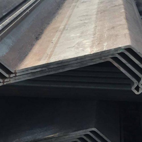thyssenkrupp Z-Profile: Ein geringes Widerstandsmoment sorgt für wirtschaftliche Bauabläufe. Foto: thyssenkrupp Infrastructure