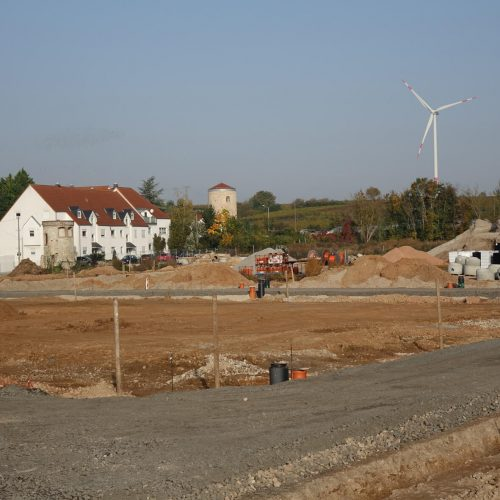 Auf 3,4 Hektar werden 59 Grundstücke für die Bebauung mit Einfamilienhäusern erschlossen. Foto: Funke Kunststoffe GmbH