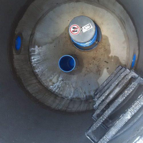 Die FABEKUN®-Spülschächte tragen dazu bei, dass es zu keinen Ablagerungen in den Rohren kommt. Foto: Funke Kunststoffe GmbH