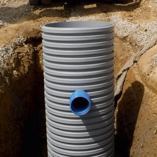 Der Funke Sedimentationsschacht ist für eine Anschlussfläche von bis zu 3.000 m2 geeignet  Foto: Funke Kunststoffe GmbH