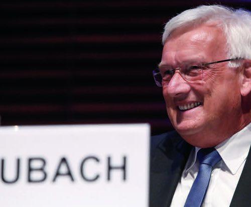 Überzeugter Güteschutzer: Dr.-Ing. Henning Rubach hat sich fast 16 Jahre lang für die Belange der Gütesicherung Kanalbau stark gemacht.  Foto: Güteschutz Kanalbau