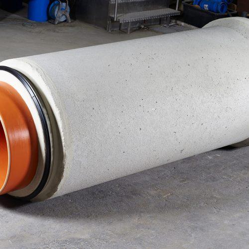 Das Ergebnis ist ein äußerst dichtes, stabiles und langlebiges Rohrsystem. Foto: Gebr. Fasel Betonwerke GmbH