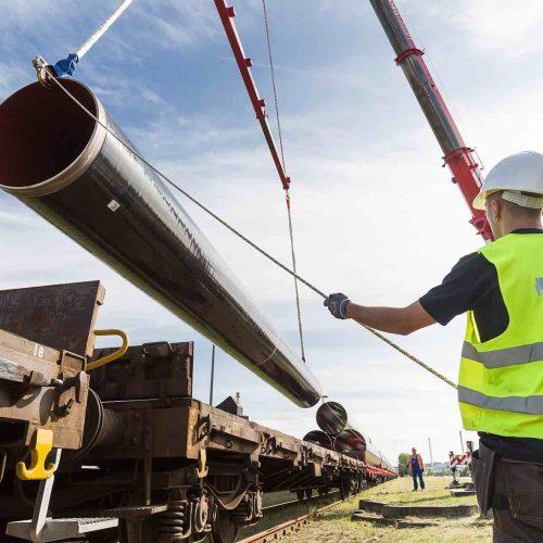 Die Europäische Gas-Anbindungsleitung (EUGAL) wird auf einer Länge von rund 480 Kilometern von der Ostsee durch Mecklenburg-Vorpommern und Brandenburg bis in den Süden Sachsens und von dort über die Grenze in die Tschechische Republik verlaufen. Foto: Gascade