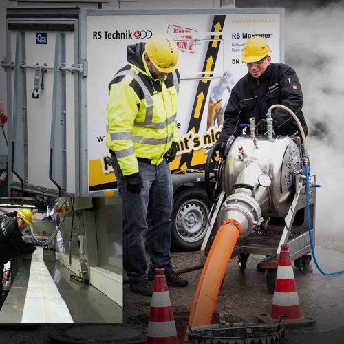 RS MaxLiner® und RS CityLiner® sind perfekte Systeme zur Sanierung von Haus-, Grund- und Hauptleitungen. Foto: RS Technik AG