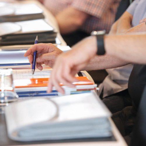 Die Seminare behandeln die fachgerechte Ausführung auf Grundlage der aktuellen Regelwerke sowie die Anwendung der Gütesicherung in der Praxis.  Foto: Güteschutz Kanalbau