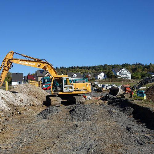 Das als Mischgebiet erschlossene Areal wird unter anderem Platz für 24 neue Wohnhäuser bieten.  Foto: Gebr. Fasel Betonwerk GmbH