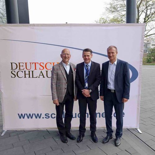 Die Macher: Franz Hoppe, Dr. Igor Borovsky und Michael Hippe (v.l.) konnten sich über zwei gelungene Veranstaltungstage freuen. Foto: TAH