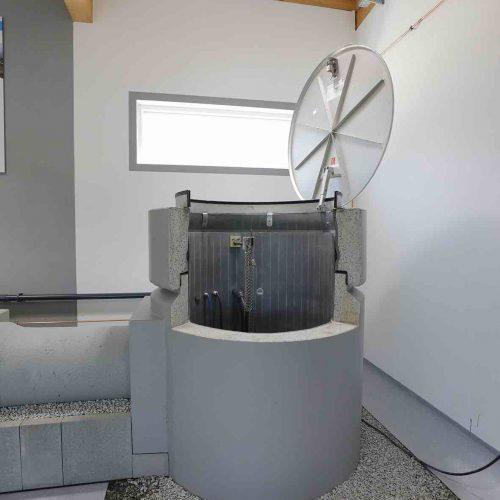 Abwassernetze, bei denen ein Höhenunterschied zu überwinden ist, sind das Einsatzgebiet des neuen Pumpschachtes der Gebr. Fasel Betonwerk GmbH. Foto: Gebr. Fasel Betonwerk GmbH