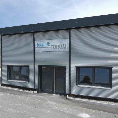 Ende Juni ist das neue technikForum auf dem Fasel-Werksgelände eröffnet worden. Foto: Gebr. Fasel Betonwerk GmbH