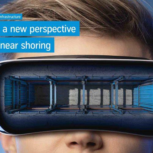 Kundenkontakt in einer neuen Dimension: Mit einer Virtual Reality Experience setzt die thyssenkrupp Infrastructure beim Thema Linearverbau auf digitale Technik. Foto: thyssenkrupp Infrastructure