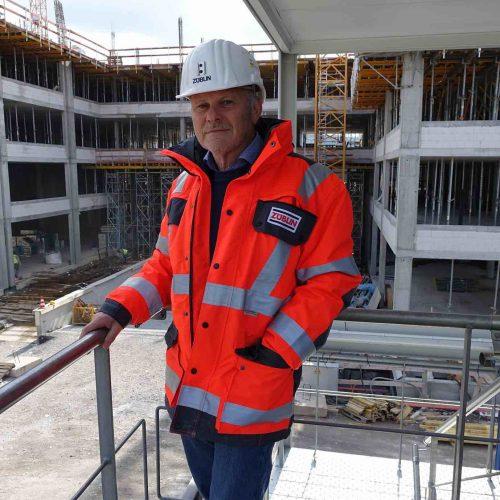 """Dipl.-Ing. (FH) Klaus Förschler, bei der Ed. Züblin AG als Bauleiter verantwortlich für """"Gerlingen Work"""".  Foto: ULMA Construction GmbH"""