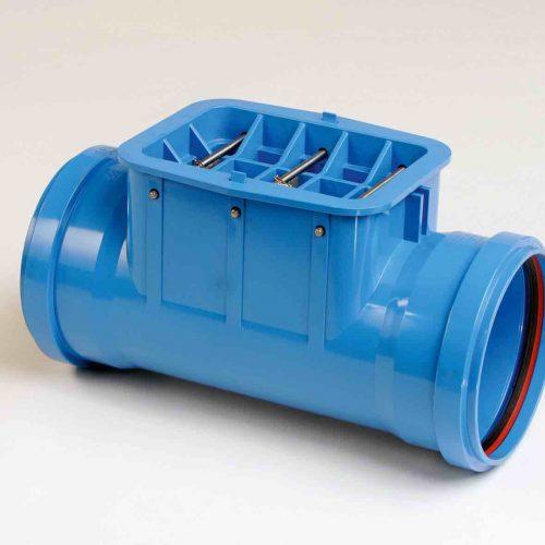 HS®-Laser- und Reinigungsöffnung DN/OD 250-500 Foto: Funke Kunststoffe