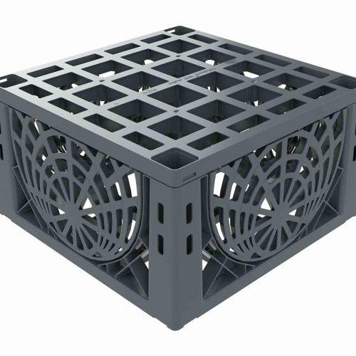 D-Raintank 3000 smallbox®: Aufgrund der Bauhöhe von nur 33 cm ist ein flacher Einbau möglich. Foto: Funke Kunststoffe