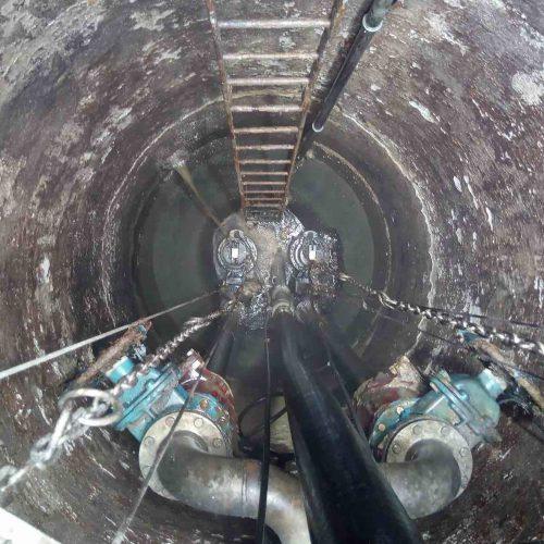 Der bauliche Zustand des Pumpwerkes und der Anlagentechnik machte eine Sanierung notwendig. Foto: Ing. Büro W. Müller
