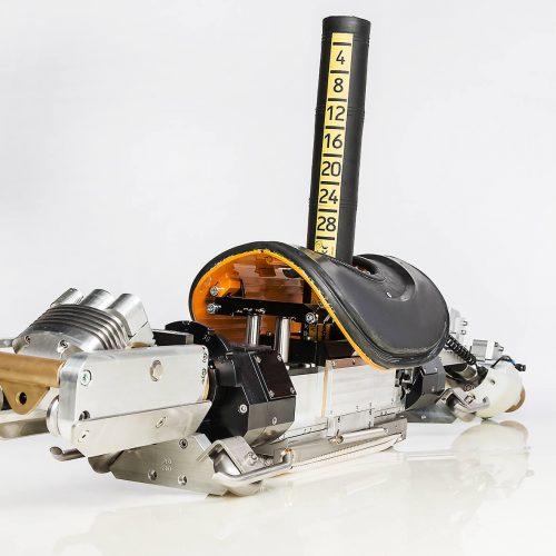 Einlaufsanierungsroboter EL300 – geeignet für Sanierungsarbeiten mit Harz oder Mörtel. Foto: Streicher Kanalsysteme GmbH