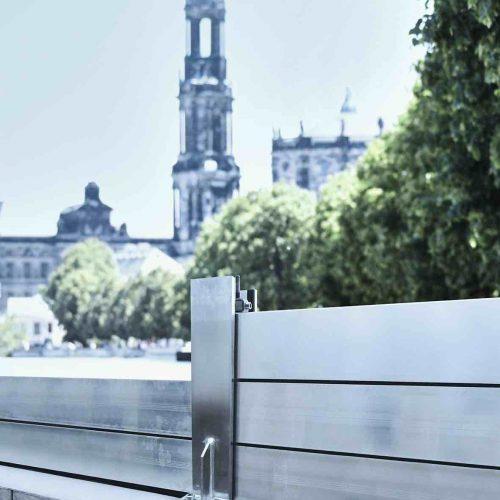 Die Schutzhöhe kann flexibel an die Situation vor Ort angepasst werden. Foto: thyssenkrupp Infrastructure