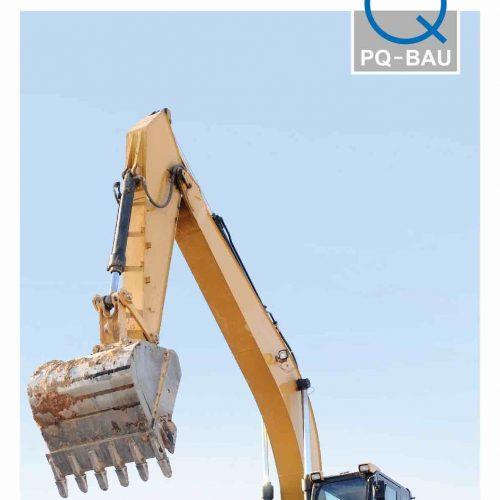 Mit einem Flyer informiert die PQ-Bau GmbH über alles Wichtige rund um das Präqualifikationsverfahren. Foto: PQ-Bau GmbH