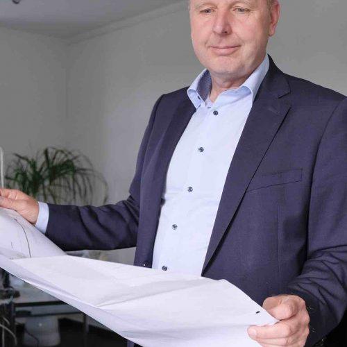 Ralf Strothteicher, Technischer Geschäftsführer der Stadtentwässerung Dresden GmbH. Foto: Güteschutz Kanalbau