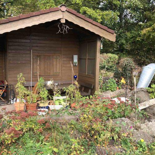 Eine typische Kleingartenparzelle mit rund 280 m2 Grundfläche. Foto: Funke Kunststoffe GmbH/Gerhard Blaasch
